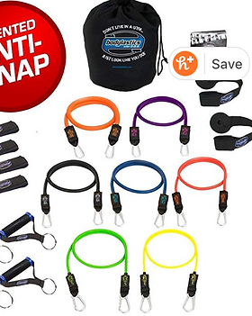 Exercise Resistance Bands wih Handles