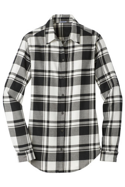 Ladies KMS Flannel Shirt