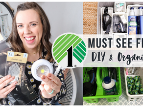 Dollar Tree Must-see Finds: DIY & Organization