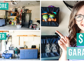 GET YOUR GARAGE ORGANIZED ON A BUDGET