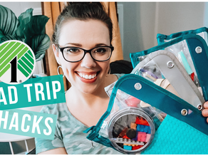 DOLLAR TREE ROAD TRIP BUSY BAGS FOR KIDS