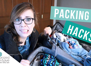 HOW TO EASE THE PAIN OF PACKING FOR A VACATION
