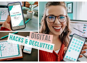 DIGITAL ORGANIZING HACKS TO KEEP YOU PRODUCTIVE