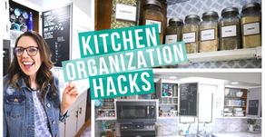 CLEVER KITCHEN ORGANIZATION HACKS | ORGANIZE WITH ME