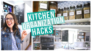 CLEVER KITCHEN ORGANIZATION HACKS   ORGANIZE WITH ME