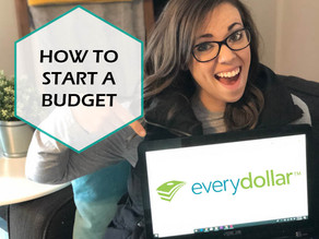 HOW TO START A BUDGET THAT ACTUALLY WORKS / EVERYDOLLAR