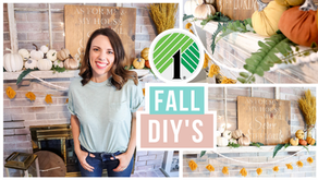 Fall High End Dollar Tree DIYs