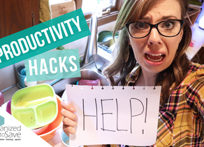 PRODUCTIVITY HACKS WHEN YOU ARE OVERWHELMED