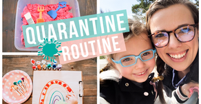 QUARANTINE PRE-SCHOOL ROUTINE & EASY LEARNING ACTIVITIES