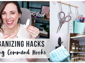 Organizing Hacks Using Command Hooks for Your Whole Home