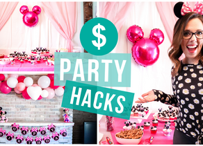 PARTY HACKS! Entertaining on a budget