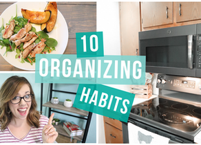 TOP 10 HABITS OF ORGANIZED PEOPLE