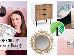 High-end DIY Dupes on a Dollar Tree Budget