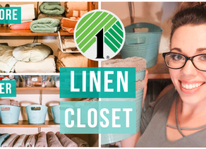 BEST WAYS TO ORGANIZE YOUR LINEN CLOSET WITH THE DOLLAR TREE