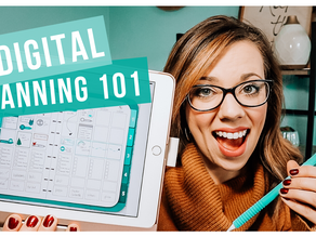 How to Get Started with a Digital Planner | Digital Planning 101
