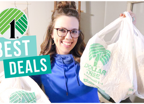 WHAT TO BUY AT THE DOLLAR TREE TO SAVE MONEY