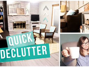 5 ITEMS TO DECLUTTER IN YOUR HOME NOW!