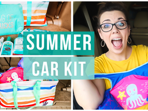 HOW TO GET YOUR CAR READY FOR SUMMER | VAN ORGANIZATION