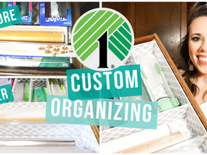 HOW TO CREATE CUSTOM KITCHEN ORGANIZERS ON A BUDGET