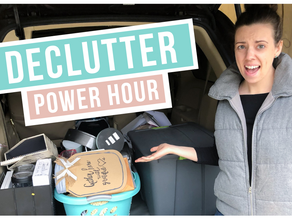 POWER HOUR DECLUTTER WITH ME