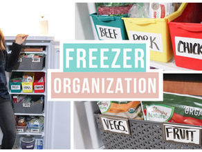 How to organize your deep freezer