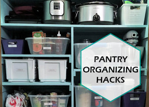 PANTRY ORGANIZING HACKS FOR THE NEW YEAR