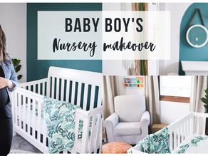 Boys Nursery Makeover on a Budget