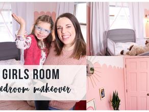 Girls Room Bedroom Makeover