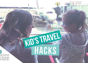 HOW TO FLY SUCCESSFULLY WITH KIDS/TRAVEL HACKS