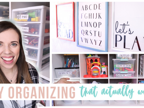 Toy organizing that actually works!! | FREEBIE LABELS