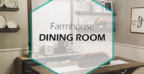How to Create a Farmhouse Inspired Dining Room