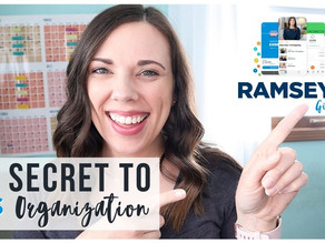 My Secret to Money Organization: Ramsey Plus Review & GIVEAWAY