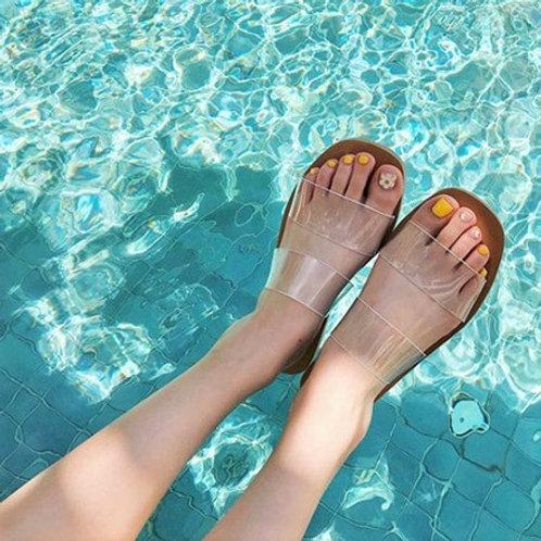 Jelly Beach Slippers 透明沙灘拖鞋
