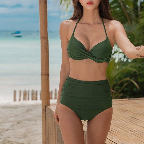 Twist Top High Waist Bikini 扭布款高腰比堅尼