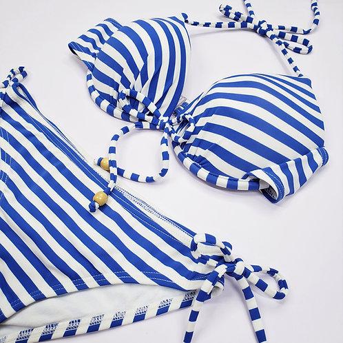 Blue Stripe Bikini 藍色橫間比堅尼