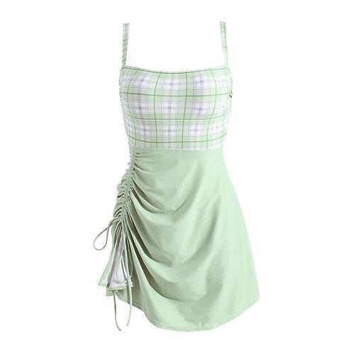 Fresh Look Braces Swim-dress 清新吊帶泳衣裙
