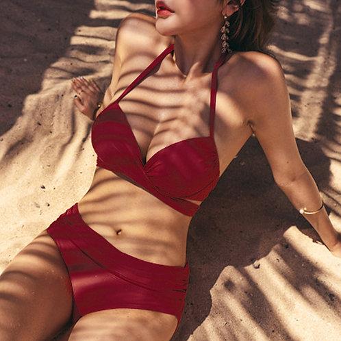 Sexy Rosette Bikini (Red) 性感蝴蝶結比堅尼泳衣(紅色)