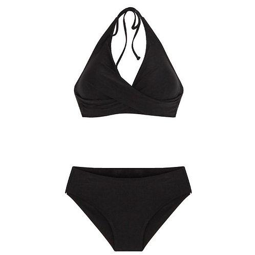 Twisted Crop Top Bikini 扭紋布比堅尼