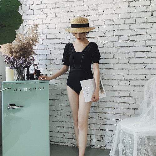 Puff Sleeve Swimsuit 泡泡袖連身泳衣