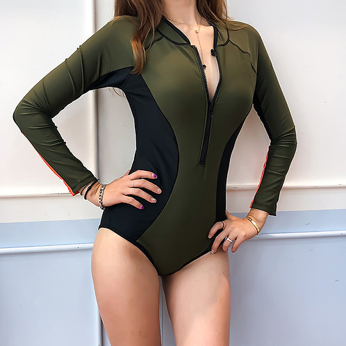 Long Sleeve Swimsuit 長袖連身泳衣