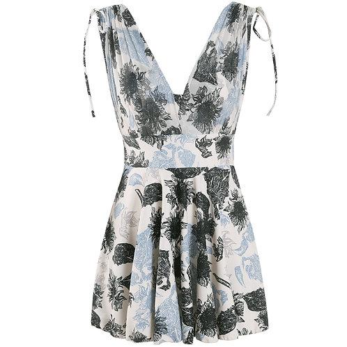 Jumper Printing Swim-dress 背心裙印花連身泳衣
