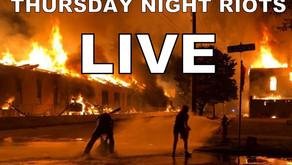 LIVE - George Floyd Riots - Thursday 5/28