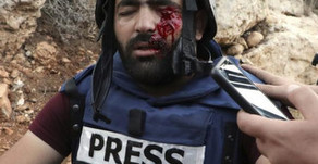 Zionists Shoot Journalist in the Eye