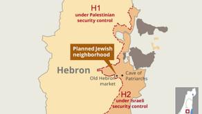 Zionist Settlers Seek to Supplant Palestinians in Hebron