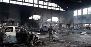 Photos of Syrian Airbase Destruction