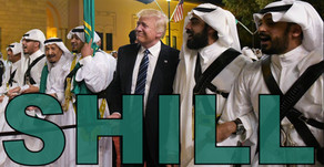 Trump Shilling for the Military Industrial Complex & Saudi Arabia