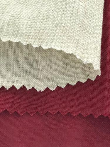 #19134 100% Linen Poplin (165g) 10Y