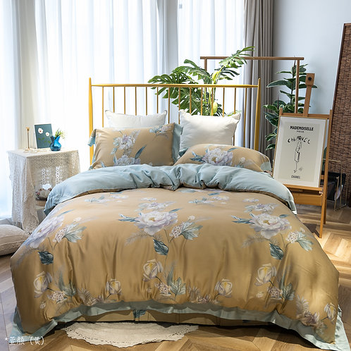 60's Tencel™ Full Bed Set_ROYAL_HP002