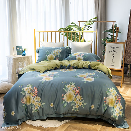 60's Tencel™ Full Bed Set_GRACE_HP003