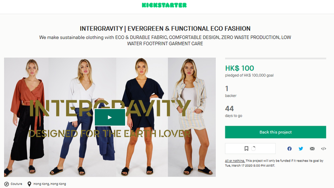 KICKSTARTER CAMPAIGN launched